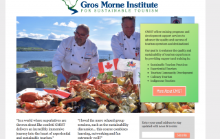 GMIST - Gros Morne Institute Frank Widmer