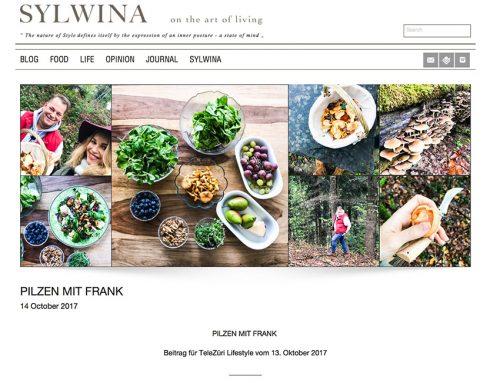 Im SYLVINA-Blog: PILZEN MIT FRANK