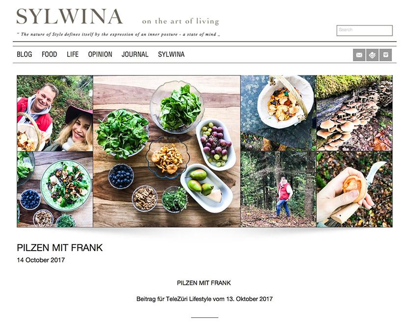 SYLWINA Blog Pilze sammeln, Frawi